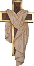 CROCE DELLA RESURREZIONE-CROSS OF THE RESURRECTION Legno H cm.40 Woodcarving