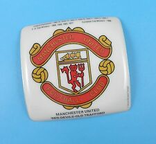 Man United FC Coaster - Late 1970's Old Shop Stock