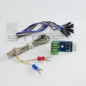 Termocoppia K + modulo MAX6675 - sensore temperatura per ARDUINO - ART. CD23