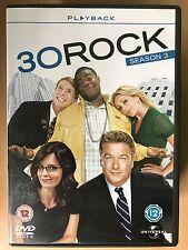 TINA FEY ALEC BALDWIN 30 Rock ~ Temporada 3 ~ EEUU Comedia Series GB Set de DVDS