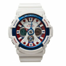 Round Plastic Case Sport Wristwatches with 24-Hour Dial