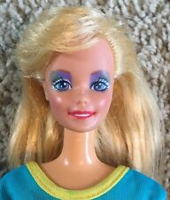 Mattel Barbie DOLL  Blonde Hair  Blue Eyes 1966 Twist And Turn 11.5 Inch Vintage