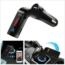 Bluetooth G7 Car Kit MP3 Player Handsfree FM Transmitter Radio USB Charger & AUX