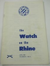 The Watch on the Rhine Society of the Third Infantry Div. April 1984 Vol.65 No.5
