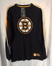 NHL Bruins Top Shelf Crew Tee Long Sleeve NWT.