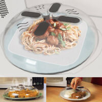 Hover Cover Magnetic Microwave Splatter Guard Food Steam Vents Home Cook Ware US
