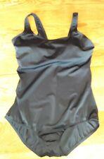 Lands' End Women's Size 16D Black One-Piece Swimsuit.