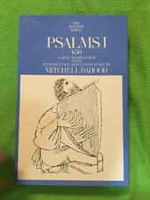 Psalms 1-50 - The Anchor Bible - Mitchell Dahood - Doubleday