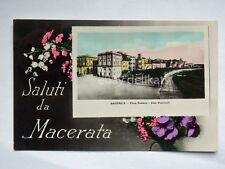 Saluti da MACERATA Porta Romana vecchia cartolina