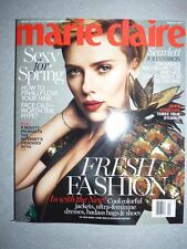 Magazine mode fashion MARIE CLAIRE UK march 2017 Scarlett Johansson