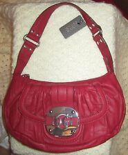 Women's GUESS Shoulder Bag Handbag, Mademoiselle Group, Red NWT