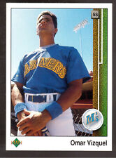 1989 UPPER DECK #787 OMAR VIZQUEL ROOKIE