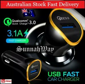 REDUCED: Fast Charger Qualcomm QC3.0 Quick USB Car Charging Adapter Mobile GPS