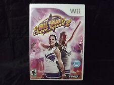 NEW SELED Wii All Star Cheer Squad 2 II Nintendo Wii  Cheerleading