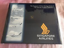 Singapore Airlines Heritage Series 2 - 1:500 SCALE 510806 New NIB MIB MINT SET