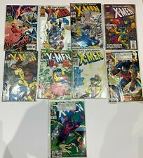 Job lot of Marvel Comics x9 - Uncanny X-Men Wolverine Colossus 1992-1996