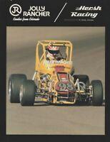 1980's Hersh Racing RMMRA USAC Midget Sprint Car postcard