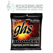 GHS Bass boomers Electric Strings 45-105 set cuerdas frase m3045