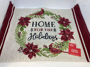 """NWT Holiday Style Christmas Tapestry Placemat 13"""" x 18"""""""