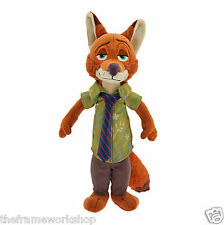 "ZOOTROPOLIS LARGE 12"" 30cm NICK WILDE FOX SOFT PLUSH CUDDLY TOY"