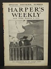 Harper's Weekly Cover Page The Christening of the Kaiser's Yacht 1902  A7#61