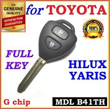 Toyota Hilux / Yaris Remote key Two Buttons G Type - B41TH