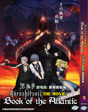 Anime DVD Black Butler Kuroshitsuji The Movie Book Of The Atlantic English Sub