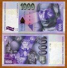 Slovakia, 1000 Korun, 2005, P-47a, UNC > Pre-Euro
