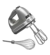 New KitchenAid hand mixer 7 Speed khm7210cu Free Whisk Included Contour Silver