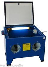 Sandstrahler Strahlkabine Strahlgerät  Sandstrahlkabine 90 Liter sand blaster