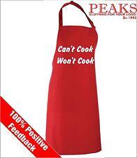 Polyester Blend Unbranded Kitchen Aprons