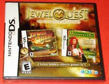 Jewel Quest Mysteries  Nintendo DS *New! *Sealed! *Free Shipping!