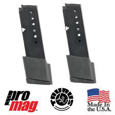 ProMag Extended (2 PACK) Taurus 709 PT709 Slim 9mm 10RD Blue Steel Mag TAU22