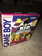 Kid Dracula Nintendo Gameboy GB boxed complete GAME BOY comme castlevania