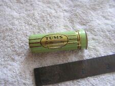 "Vintage Tums Tin ""For The Tummy"" Empty"