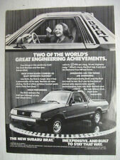 Subaru Asian Car & Truck Advertising Collectables