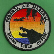 UNITED STATES FEDERAL AIR MARSHAL MIAMI FIELD OFFICE SHOULDER PATCH