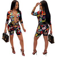 Fashion Long Sleeves Clubwear Set Women's Elegant Outfit Size Medium New