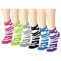 Lot of 12 Pairs Womens Ankle Quarter Socks Size 9-11 Fashion Casual (#601-57)