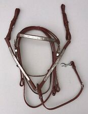 Full Size Silver Show Bridle & Breast Collar Set