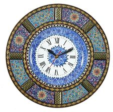 LPUK Khatam Wall clock, Round clock collections series 1 Persian Handcrafted...