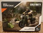 New Mega Construx Call Of Duty Legends MotorBike Raid Kit FXW78 Ages 10 78 PCs