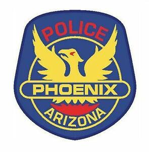 Phoenix Police Arizona Police Department Sticker Vinyl Decal 4-691
