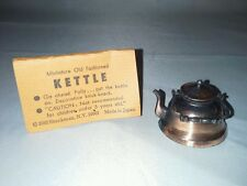 Shackman Copper Kettle Dollhouse Miniature Old Fashioned Number 3593 NY Japan