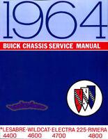 SHOP MANUAL BUICK SERVICE REPAIR 1964 BOOK
