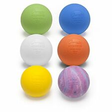 New Champion Sports Official Lacrosse Balls Pack of 6 Assorted Colors