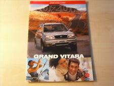 53055) Suzuki Grand Vitara Prospekt 09/2000
