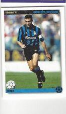 GIUSEPPE BERGOMI RARE CALCIATORI '94 JOKER CARD WITH INTER MILAN - ITALY IN NM/M