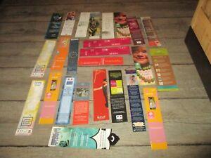 Marque pages-Lot  25 collectors-Thème Social,Caf...(lot 9)