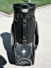 Scarce Vintage Callaway Big Bertha Staff Cart Golf Club Bag W/raincover